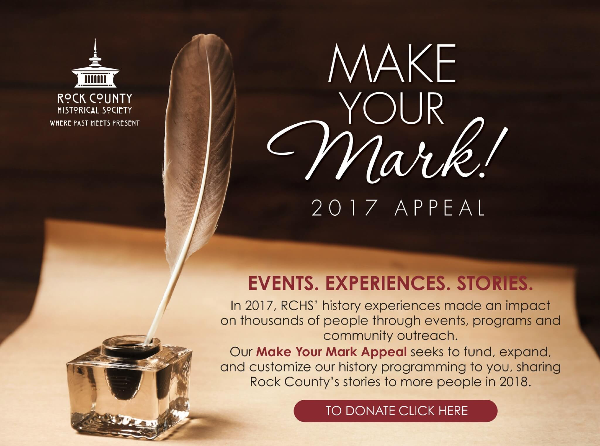 Make Your Mark - RCHS Appeal