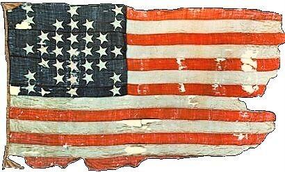 33 Star Flag Raised at Fort Sumter