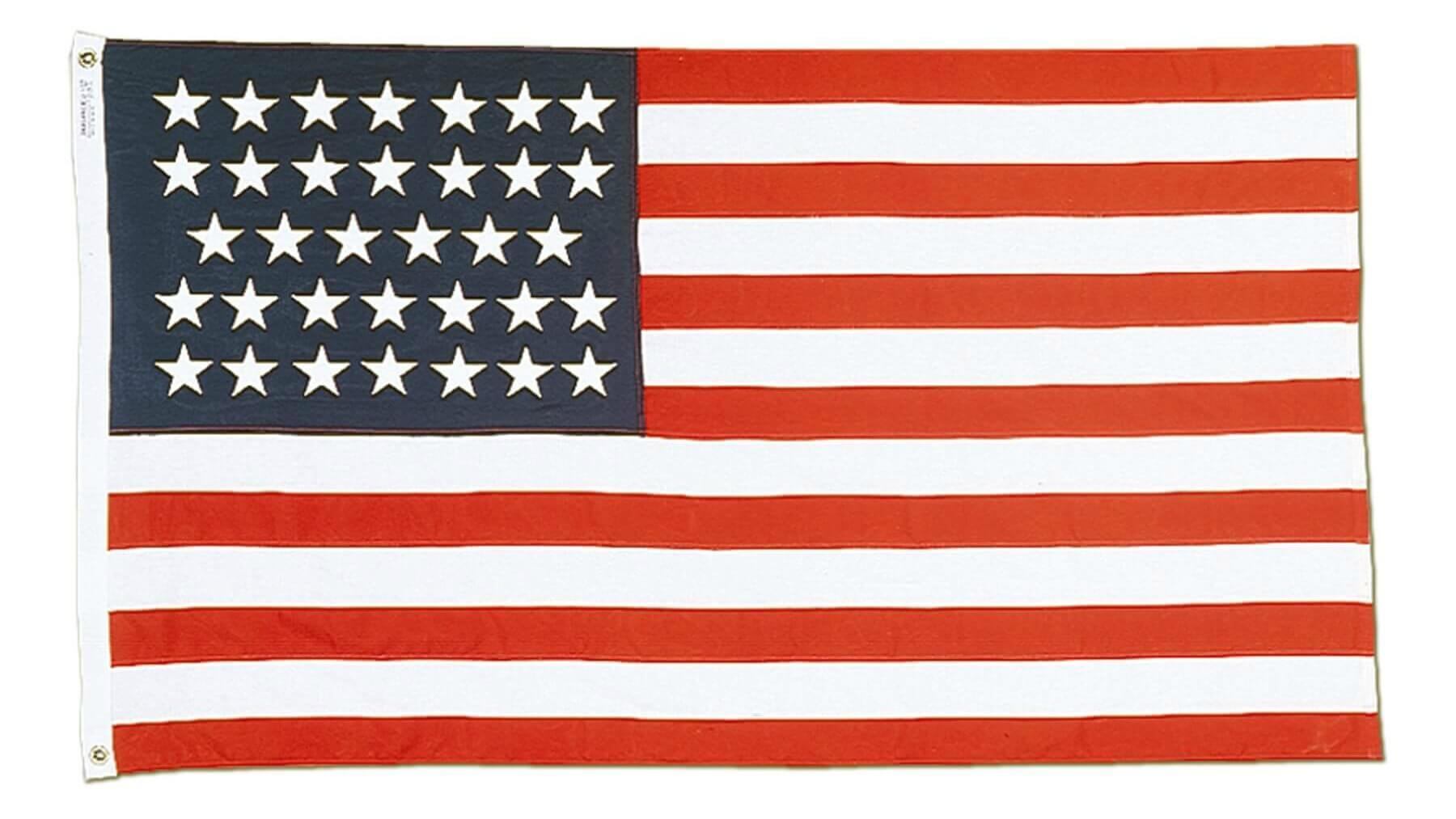 33 star U.S. flag
