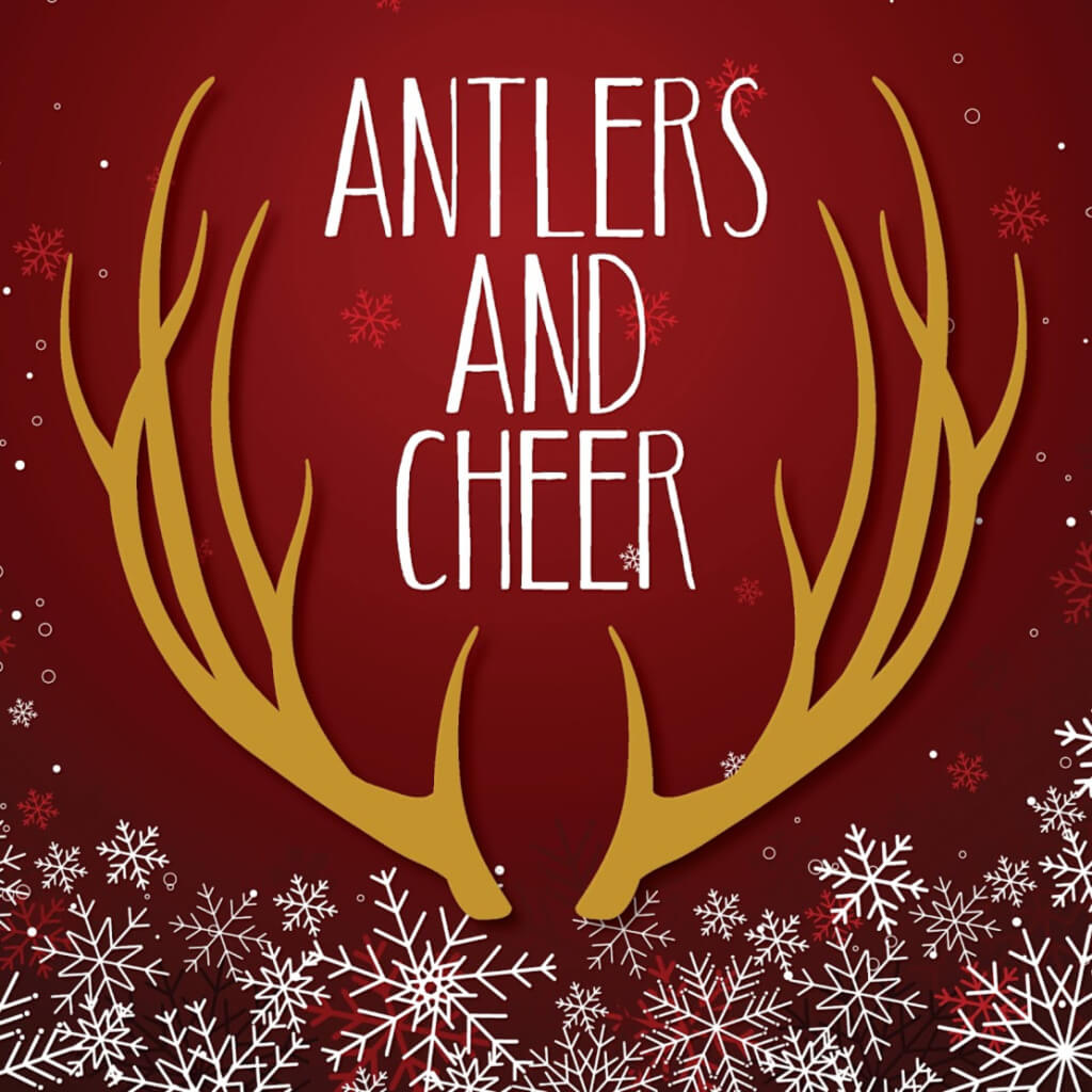 Antlers and Cheer logo