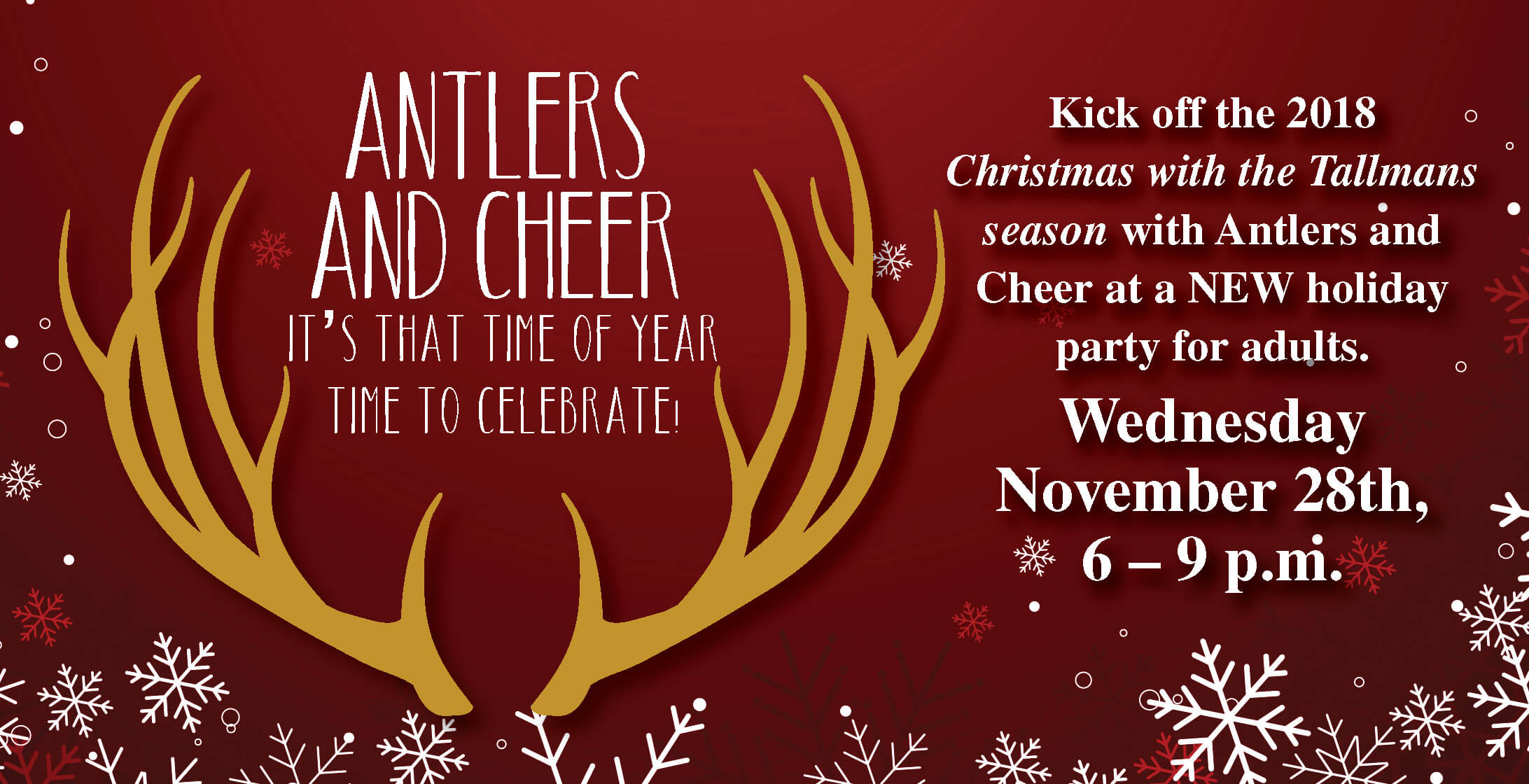 Antlers and Cheer 2018