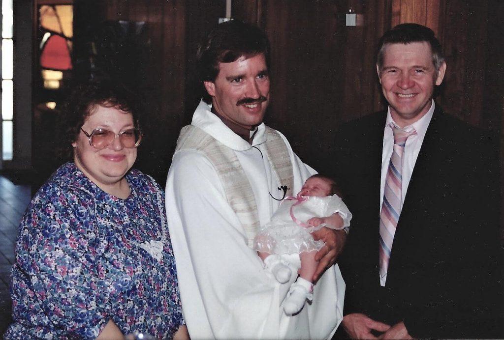 Baptism of Anna