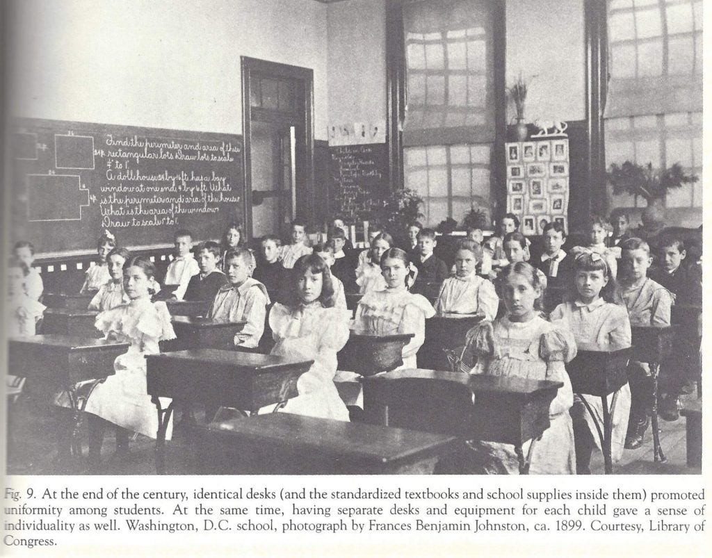 Classroom in 1899