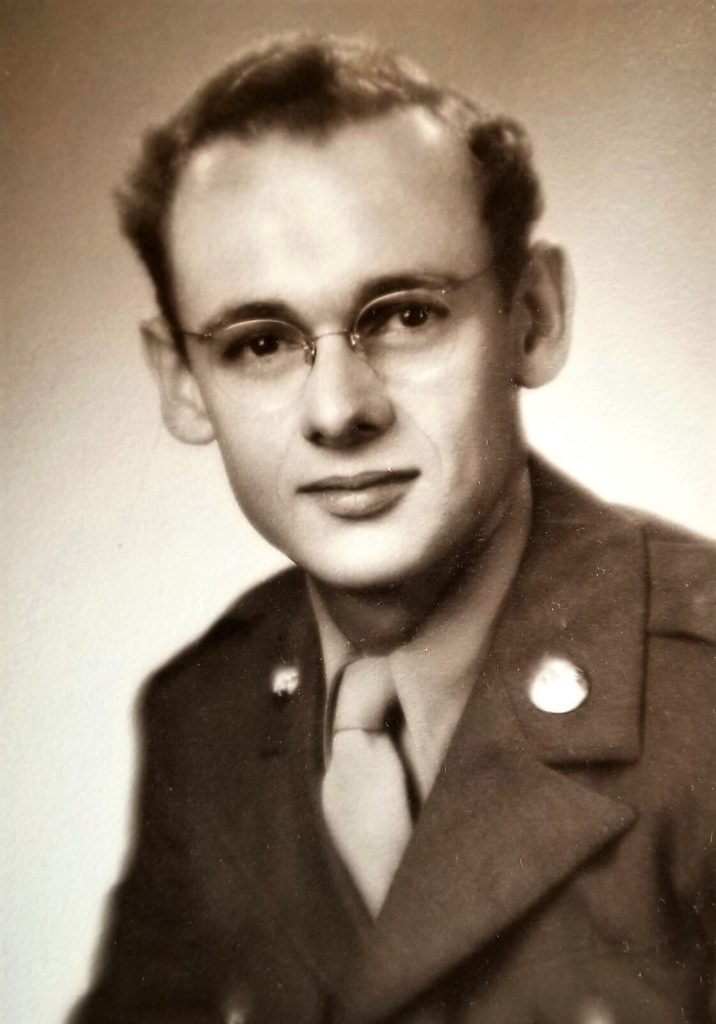 Dick Douglas in the U.S. Army