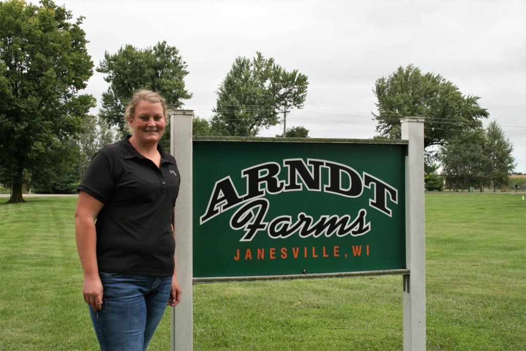 Emily Arndt 4th generation in ag