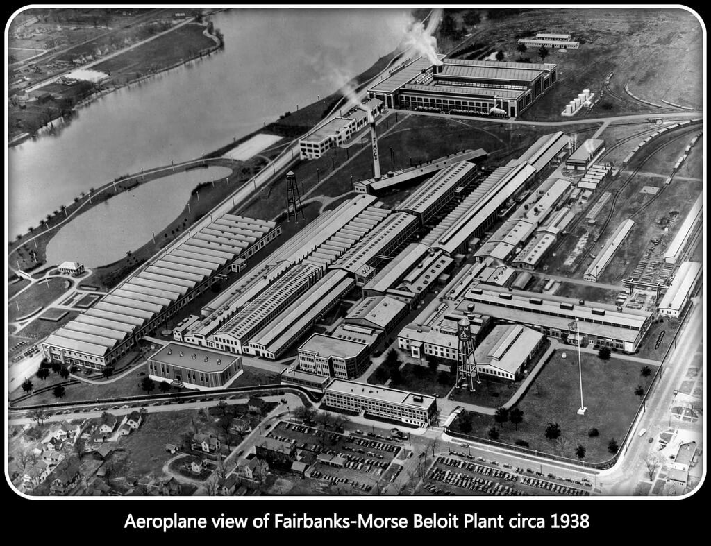 Fairbanks Morse Company in Beloit Expanded with the Labor of a Large Percentage of African American Workers