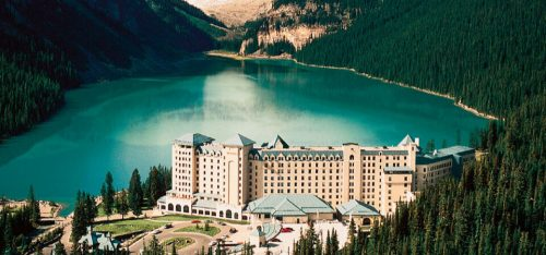 Fairmont Lake Louise summer