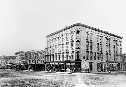 Lappin Block, ca 1880