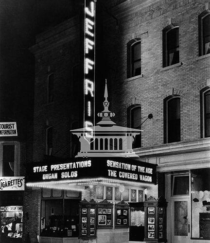 Jeffris Theater, October 1924