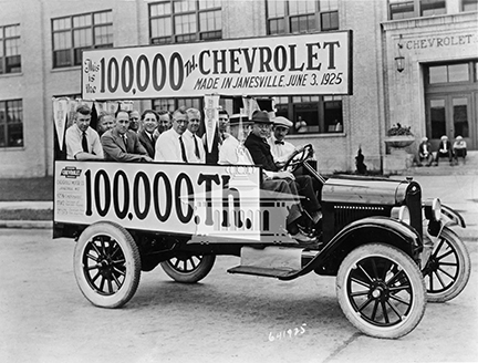 Milestone Celebration: 100,000 Chevrolets produced in Janesville