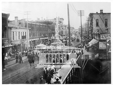 Elks Carnival Parade, ca 1890