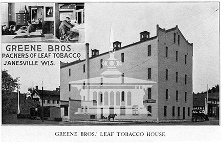 Greene Bros.' Leaf Tobacco House