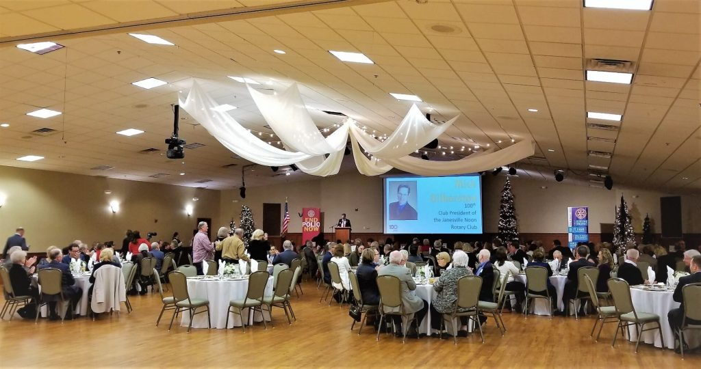 Janesville Noon Rotary Centennial Celebration at the Pontiac Convention Center