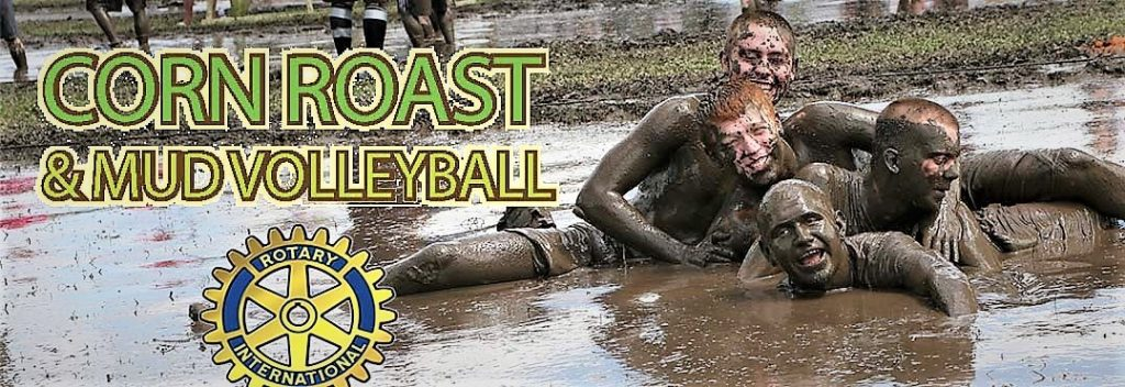 Mud Volleyball at the Corn Roast Event