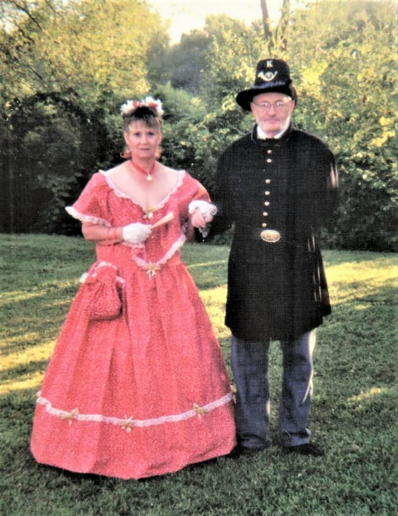 Jim Dumke and His Wife, Gayle