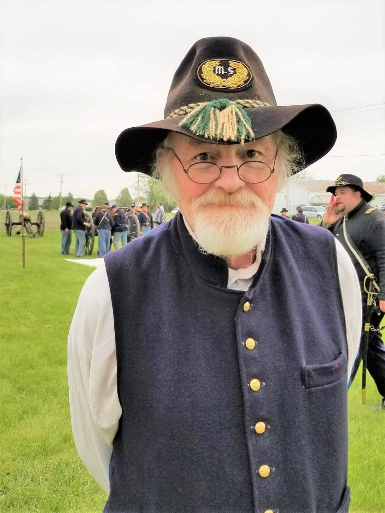 Jim at Milton's Civil War Days