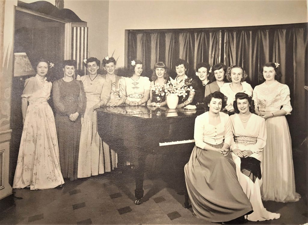 Ladies' Night During WWII