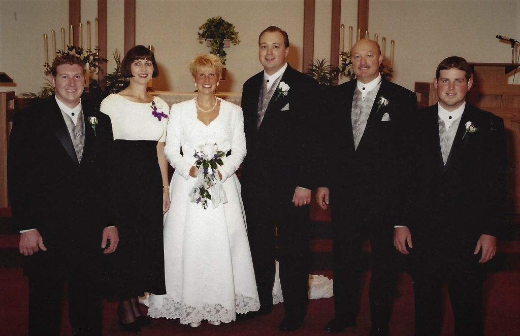 The family - Shawn, Milly, Heather, Dave Jr., Dave and Ryan