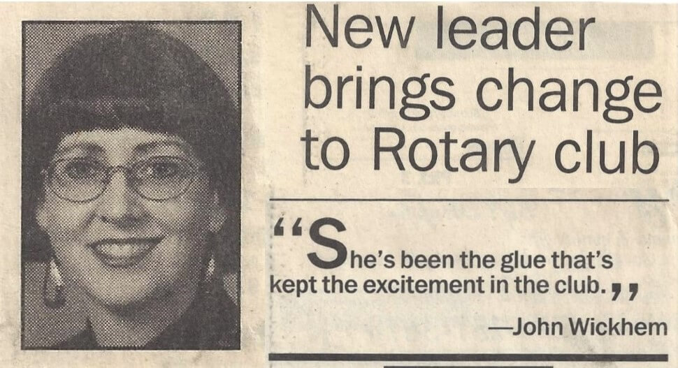 Milly announced president of Janesville Noon Rotary in the Gazette
