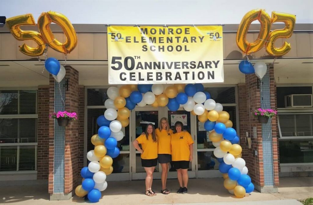 Monroe Elementary School's 50th Anniversary