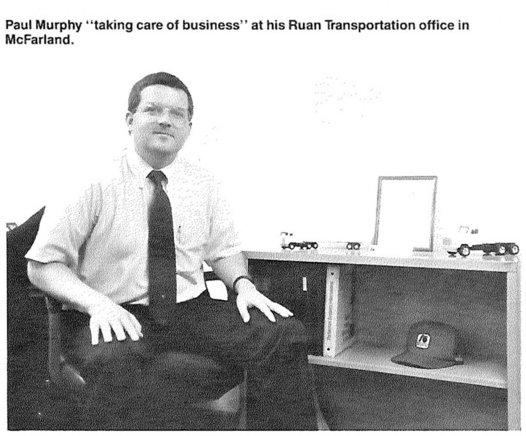 Paul Murphy at Ruan Transportation