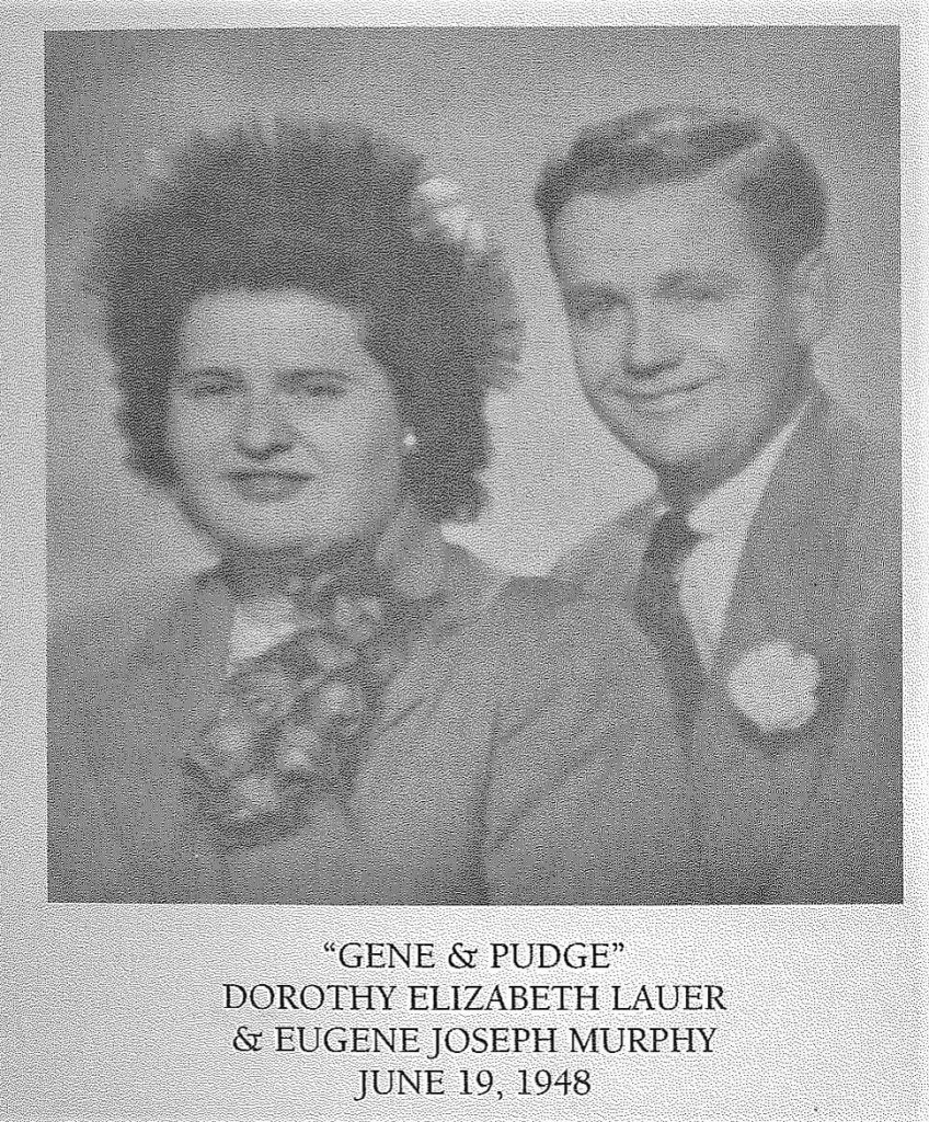Paul's parents, Eugene and Dorothy Murphy