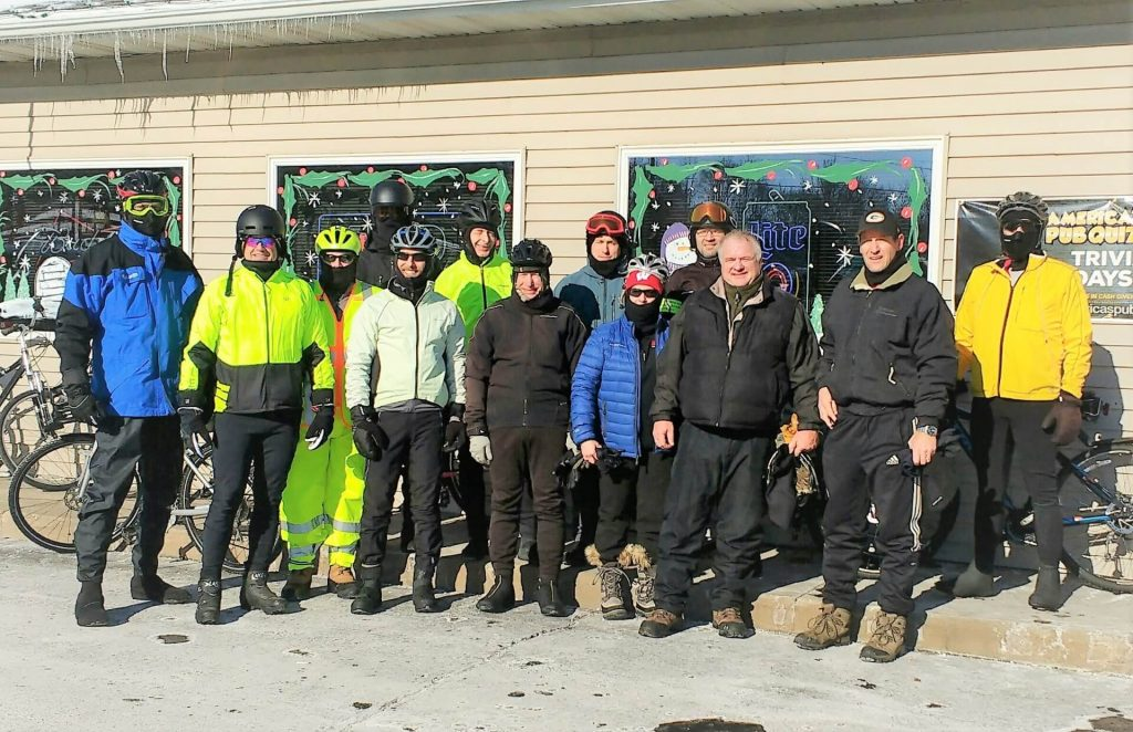 Frozen Fools Polar Ride - Jan. 1, 2018