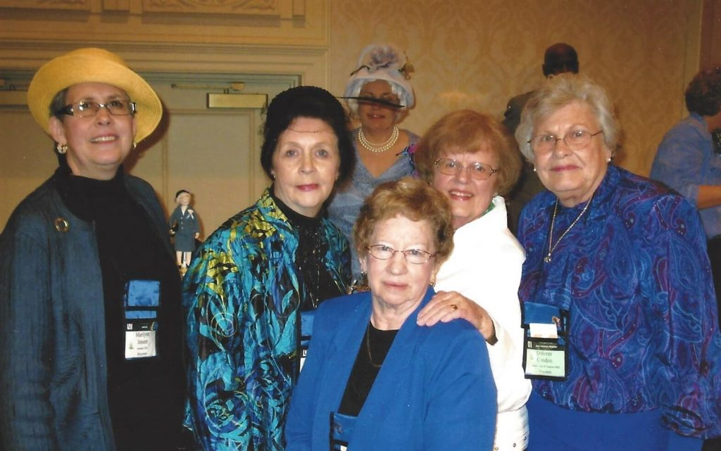 Paulette (second from right) with fellow Questers at the 2009 National Conference in PA