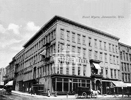 Hotel Myers, Janesville, Wis.