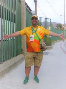 Rich Fletcher in Rio