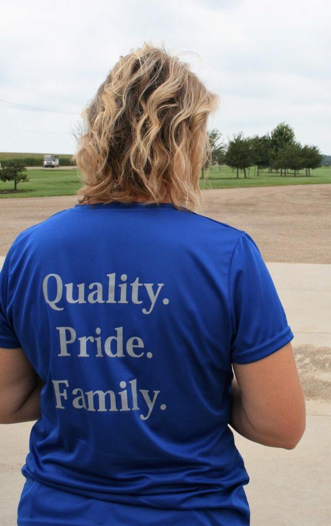 Sandy Larson family business shirt
