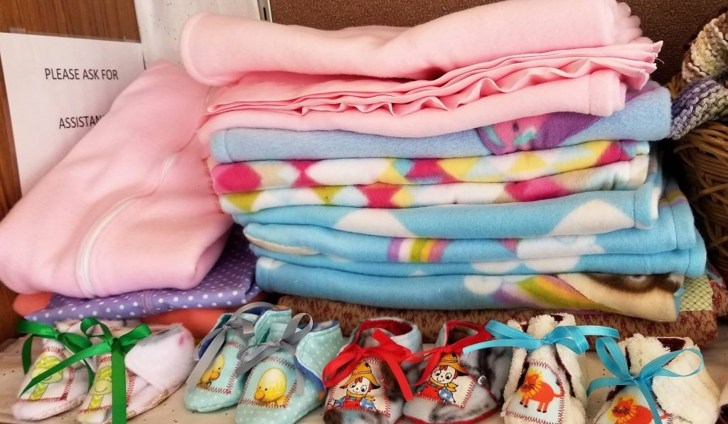 Baby Blankets Made by Sister Mary Denise