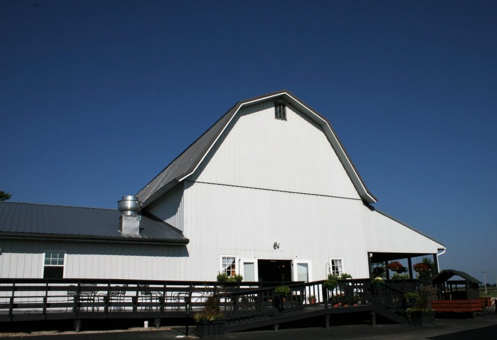 Skelly's former dairy barn