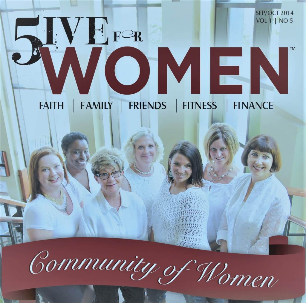The Cover of Five for Women