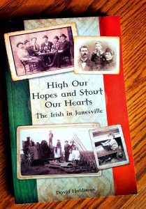 The Irish in Janesville book by David Haldiman