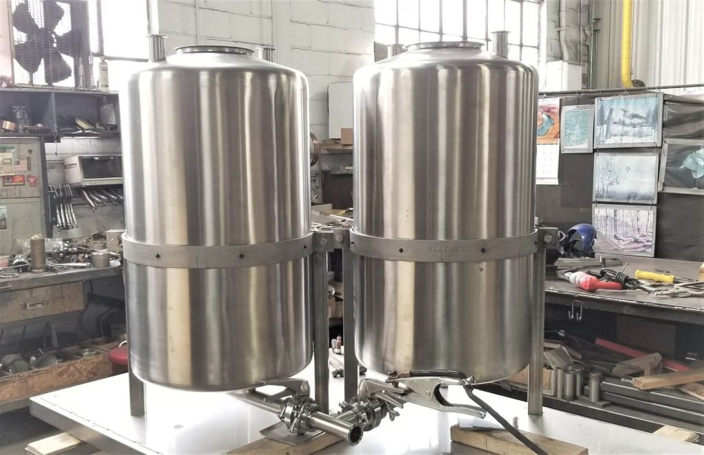 Stainless Steel Schlueter Tanks