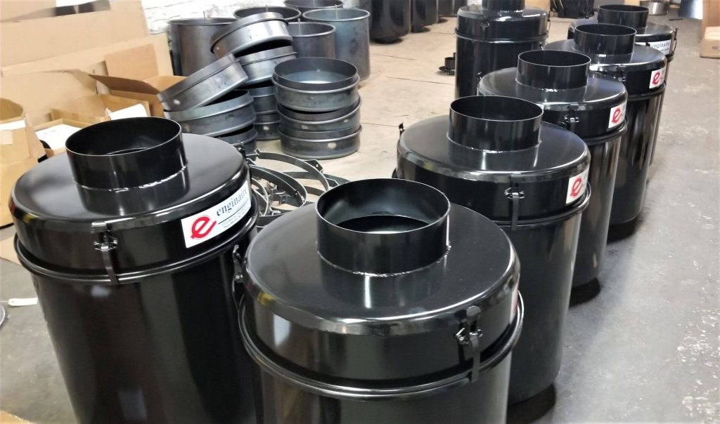 Enginaire filter canisters for large engines