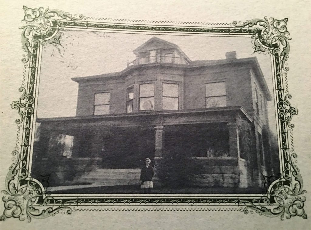 Historical photo of Tim Maahs' Janesville home