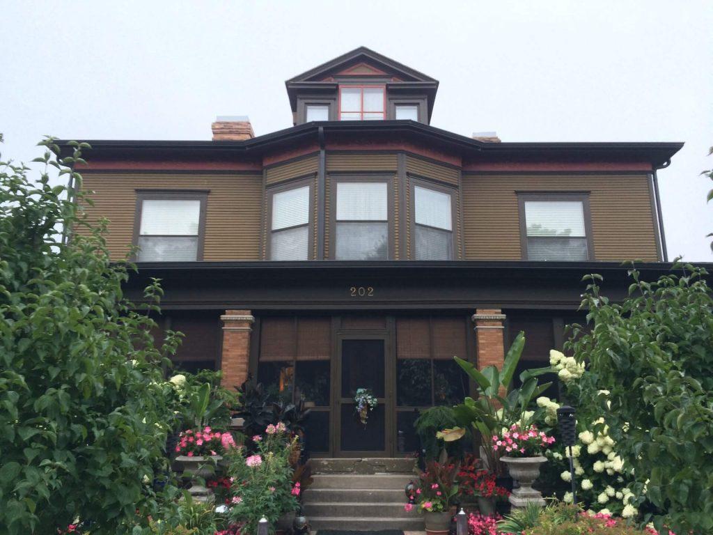 Tim Maahs' historic home