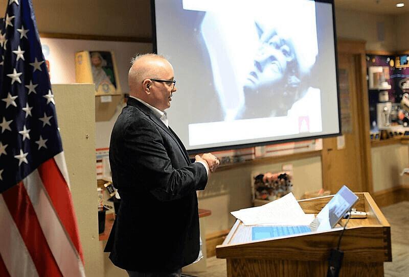 Tim Maahs running an RCHS Board Meeting