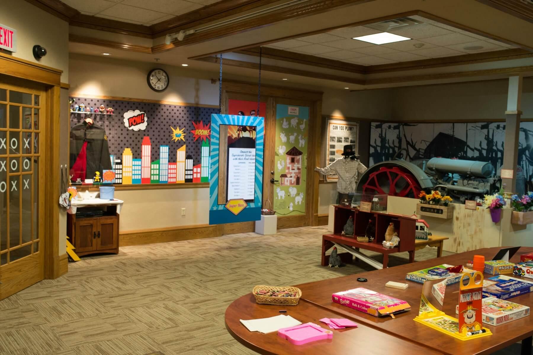 Toys exhibit room