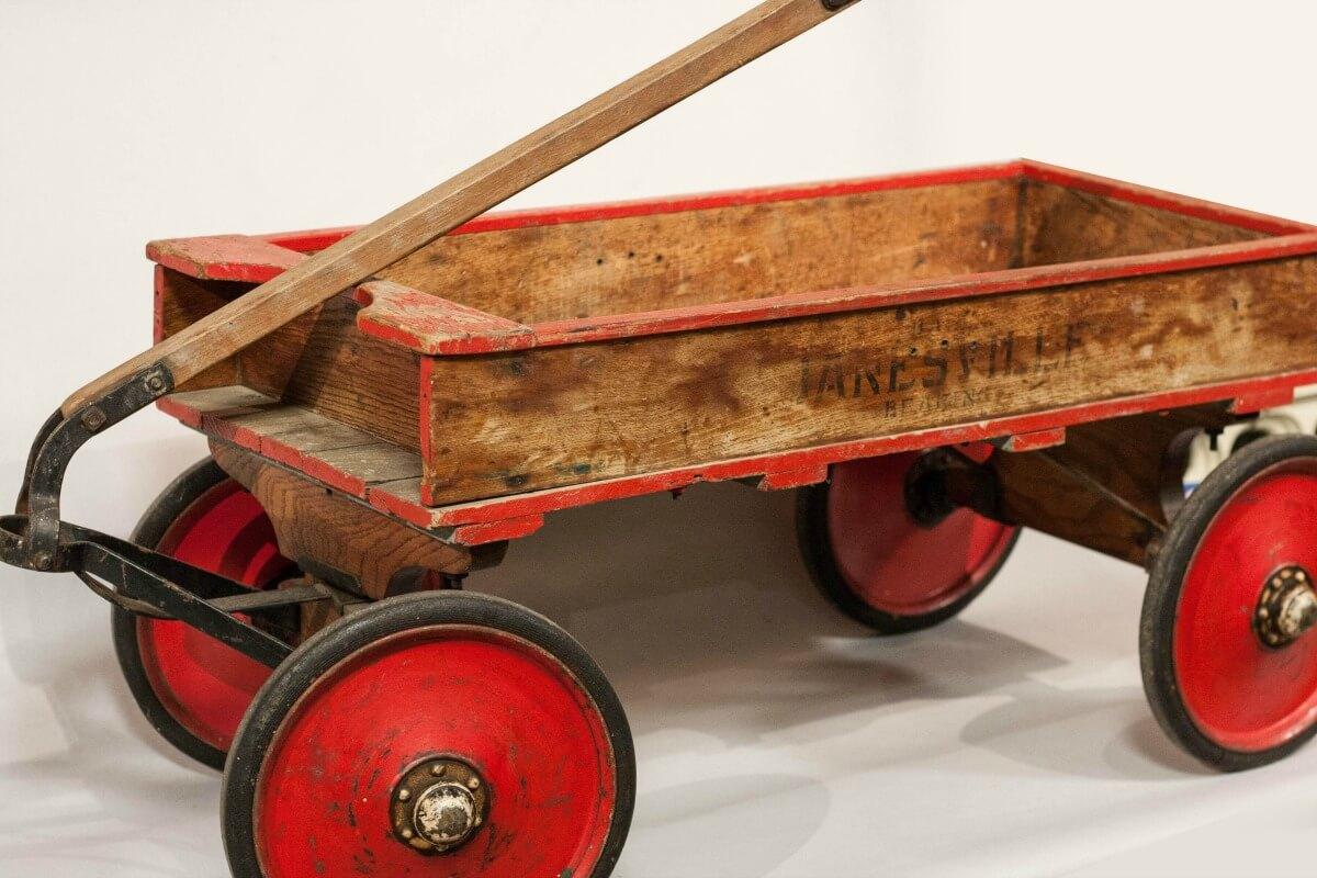 Janesville Coaster Wagon