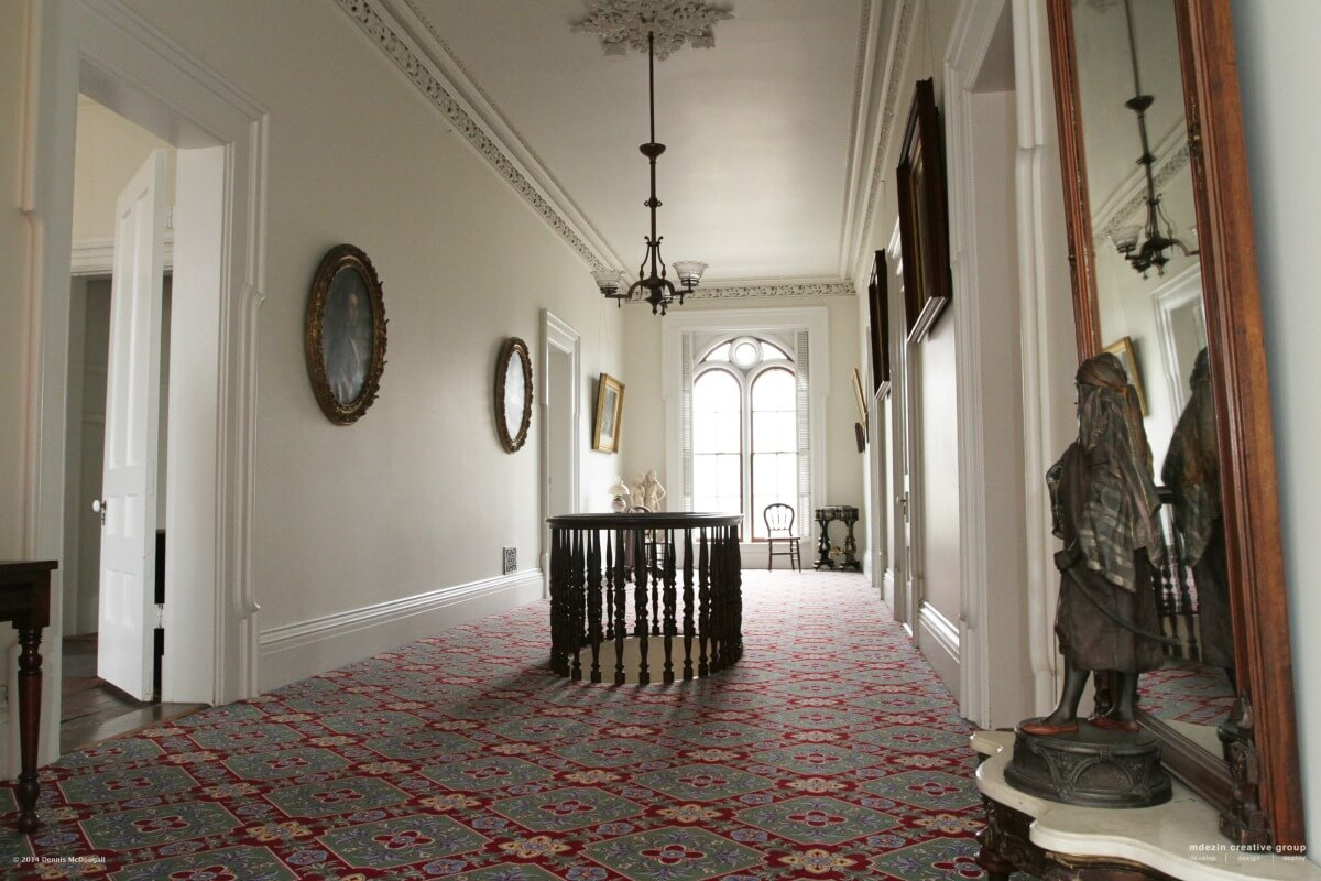 Tallman House Main Hall - Second Floor