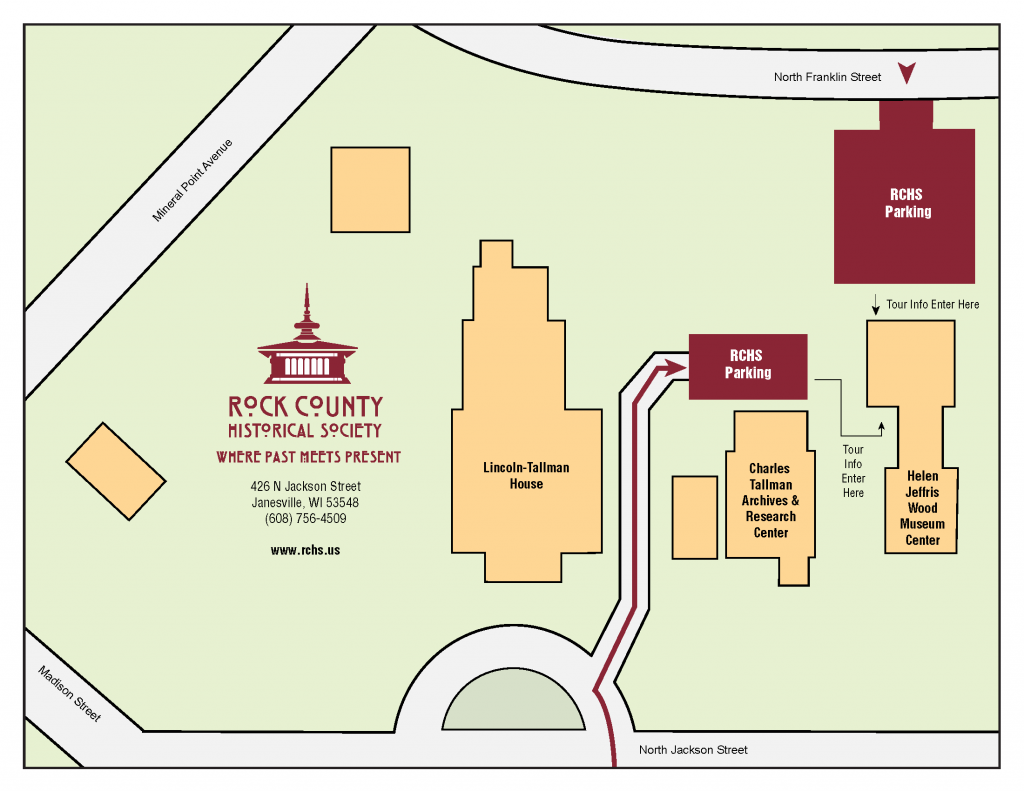 RCHS Parking Map - full