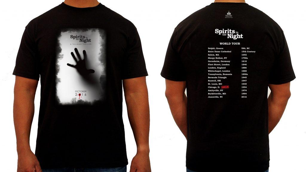 Spirits in the Night 2016 Tour T-Shirt