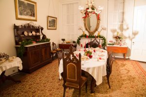 Host your Christmas party at the Lincoln-Tallman House